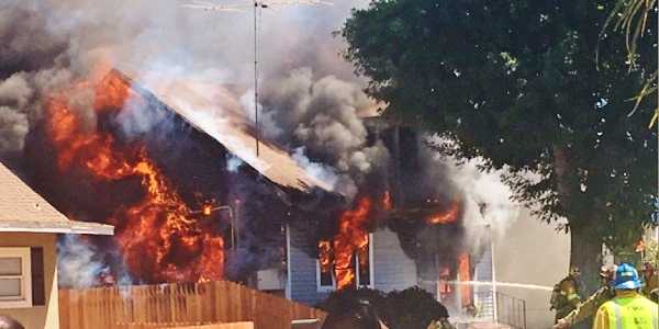 HEMET: Family of four displaced by blaze that destroyed home