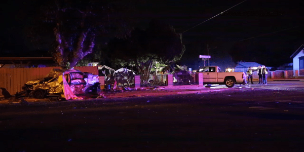 HEMET: DUI suspected by both drivers after two killed when speeding sedan smashes into truck