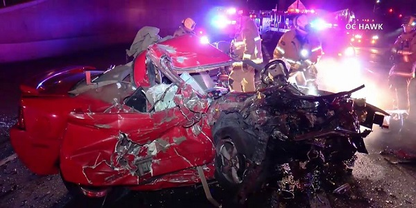 UPDATE: Teen speeding wrong way on 60 Fwy kills MV man, victim ID'd