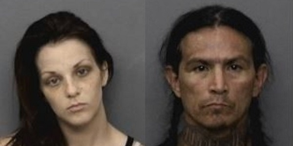 Already arrested 37 times, pair arrested again at Redding Library for drug sales, use