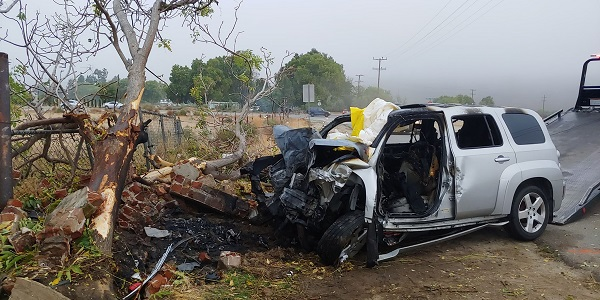UPDATE: SJ man, 20, ID'd after fiery head-on wreck