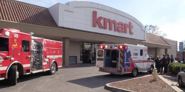 Dozens sickened, one hospitalized, after thieves unleash bear spray at JV Kmart