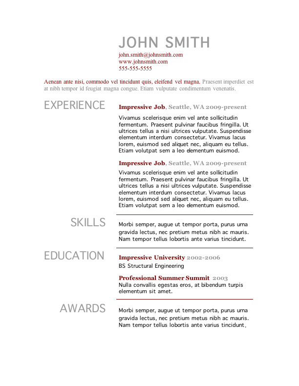 gastown free traditional resume template nontraditional resume