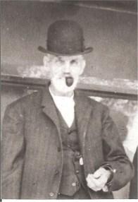 Portrait of Calvin Rich, Civil War veteran