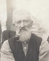 Portrait of Civil War veteran Hiram Thornton