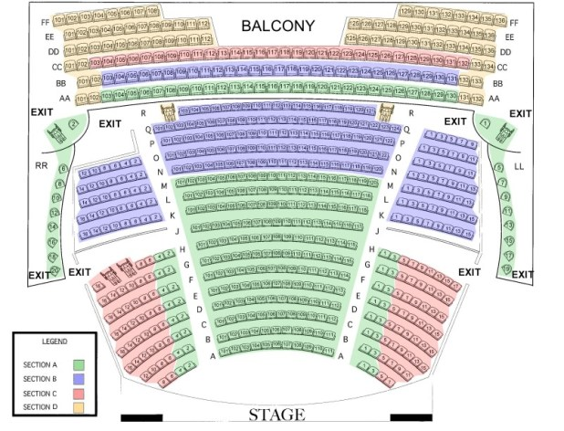 Pabst Theatre Milwaukee Seating Chart | Brokeasshome.com