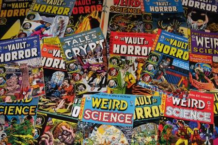 1950s EC Horror Comics