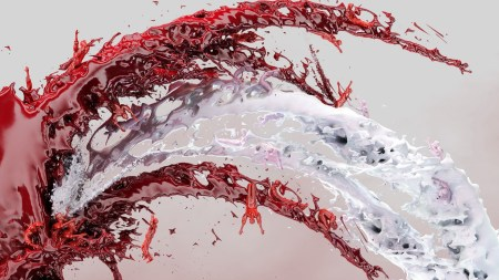 red-white-color-abstract-water-blood