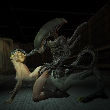 908640 - Alien Seven_of_Nine Star_Trek Star_Trek_Voyager Xenomorph crossover