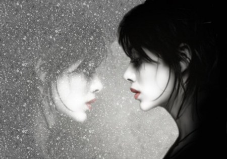 hazy-reflection-lovely-woman
