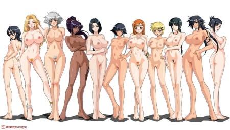 Manga-nudes