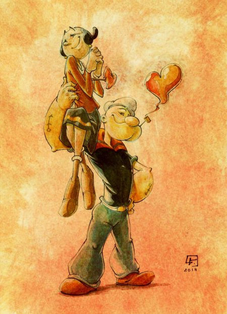 popeye_and_olive_oyl_for_a_charitable_organization_by_marvelmania-d89lh78