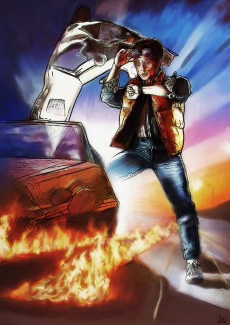 back_to_the_future_digital_painting_by_lbg44-d6yz1ty
