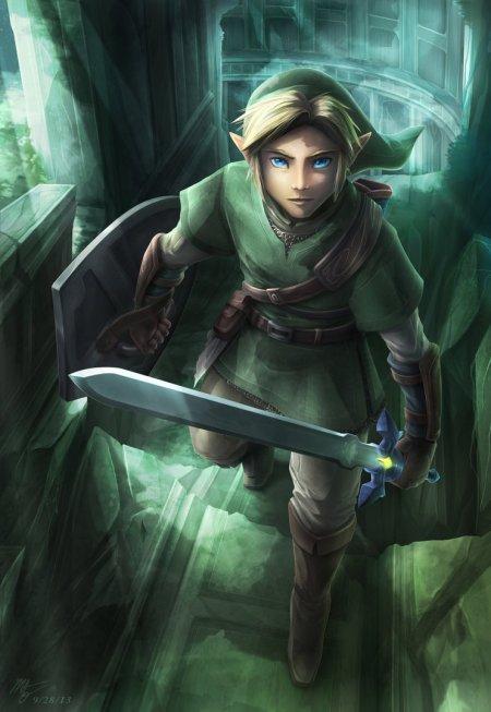 the_hero_in_green_by_vegacolors-d6otphs