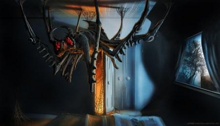 1280x736_19192_Arachnophobia_2d_horror_alien_spider_monster_picture_image_digital_art