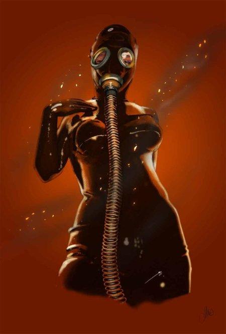 gasmask_in_fire__by_elenadarkberry-d5hz10u