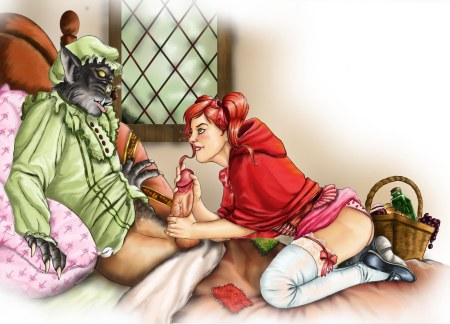 296166 - Big_Bad_Wolf Candle Little_Red_Riding_Hood