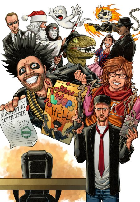 nostalgia_critic_art_contest_by_yilmazart-d8vazwz
