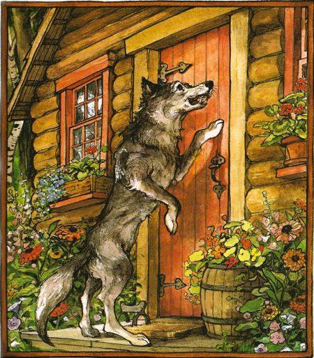 Wolf-at-Grandmas-door