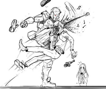 gabe_kills_justin_bieber___by_danluvisiart-d6v3vfo