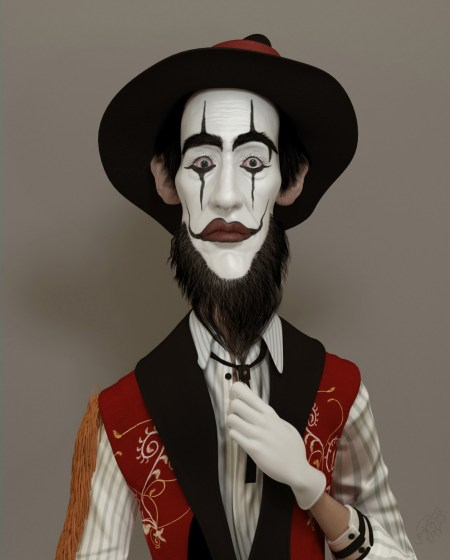 Portrait-Art-Jonamar-Palejo-Mime-Guy-992x1234