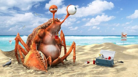 krab-limonad-napitok-plyazh