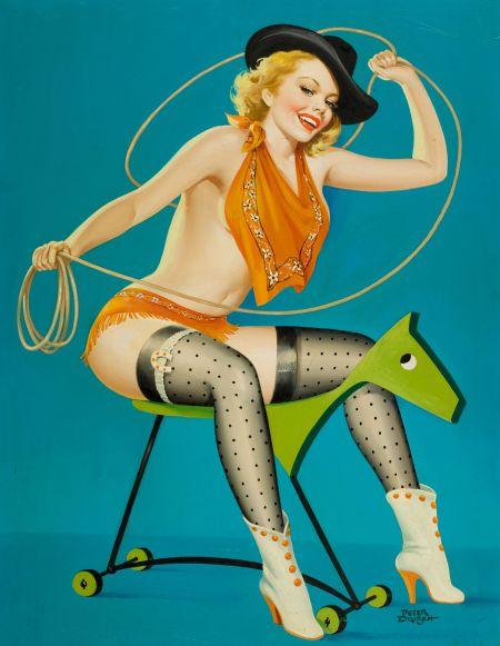 35045060-roping_the_horse_flirt_magazine_cover_october_1952