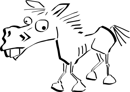 crazy-horse-lineart-by-samtux-7whjqo-clipart