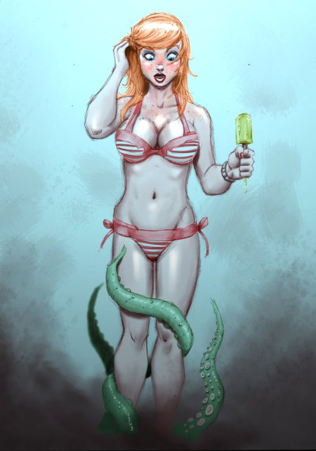 red_hair_and_tentacles_by_decoysnake-d5uxqwp