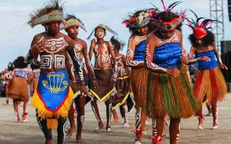 Kegunaan tarian tradisional Papua yospan