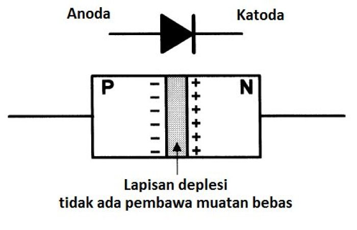 Gambar semikonduktor diode