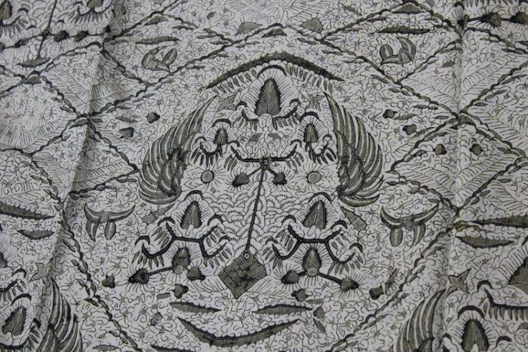 Gambar batik Sawat pengantin