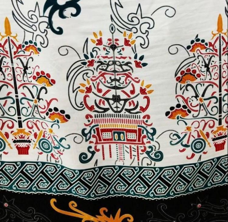 motif batik batang garing