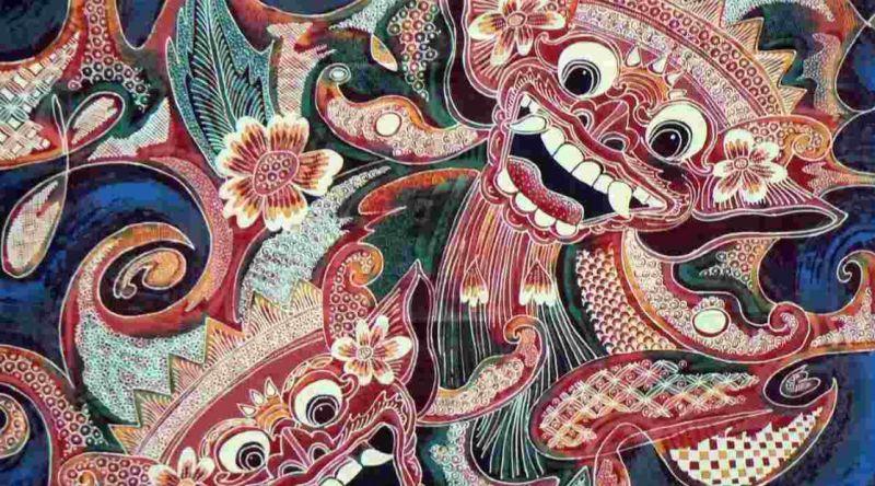 Gambar ragam motif batik Bali