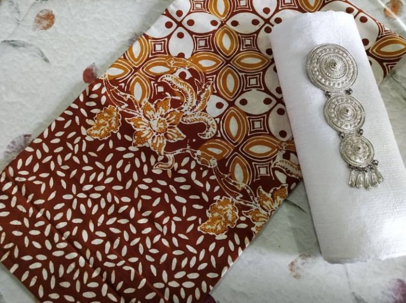 Gambar contoh batik kawung