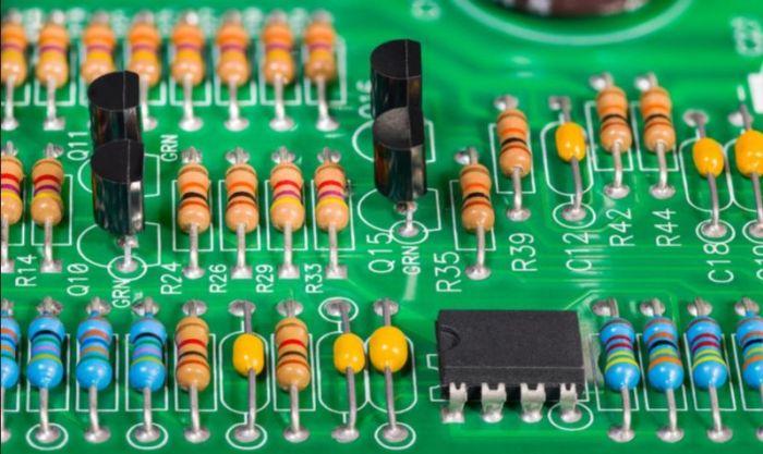 Gambar kegunaan resistor dalam sebuah rangkaian