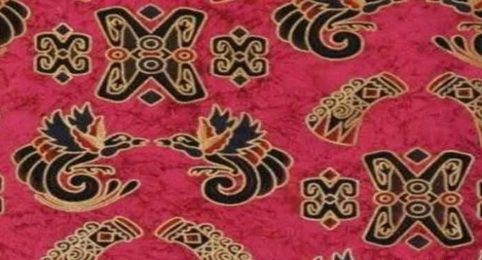 Gambar motif prada batik Papua