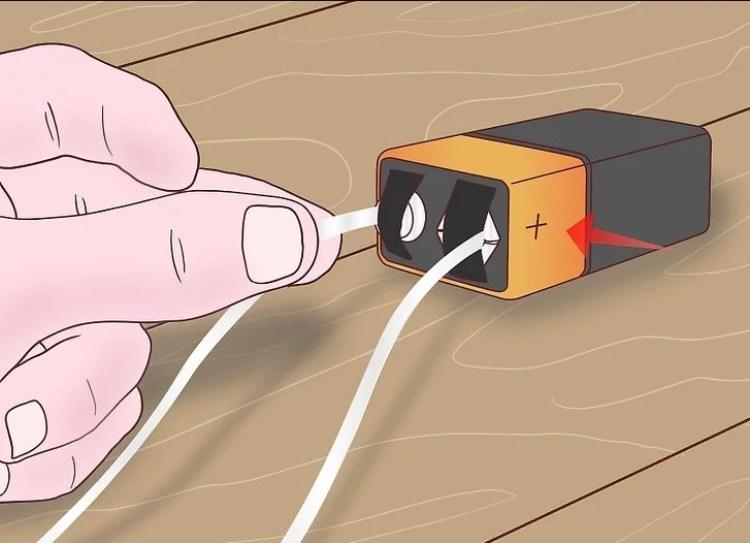 Contoh cara menyambungkan konduktor