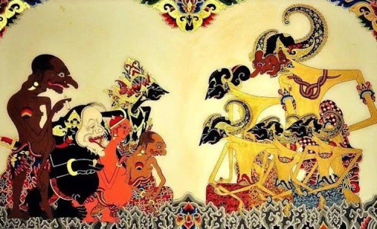 Gambar cerita wayang Jawa