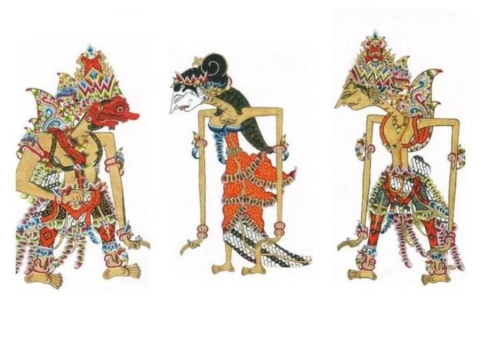 Gambar wayang Rahwana dan Ramayana