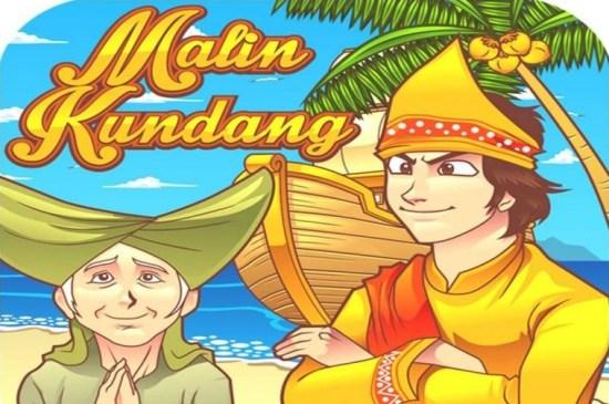 Ilustrasi cerita rakyat Malin Kundang