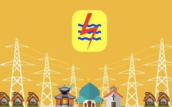 Contoh gambar tegangan listrik