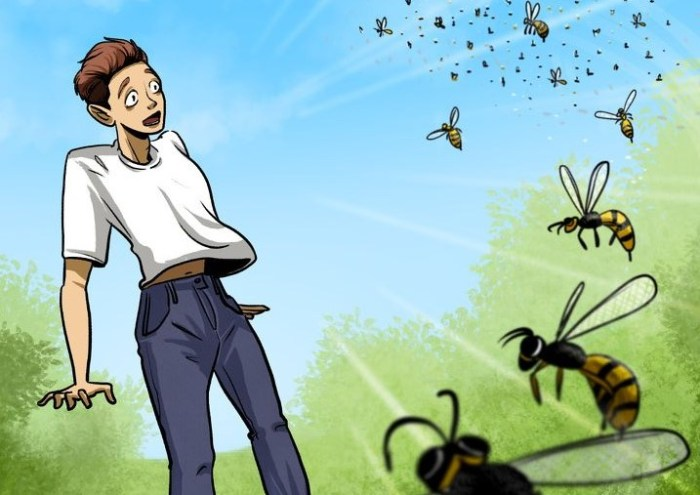 Cara mengatasi sengatan lebah