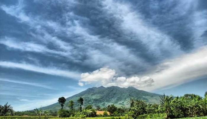 Gambar gunung salak yang penuh teka-teki