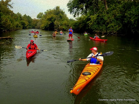 LegacyParks.org works to promote public use of the Holston and French Broad Rivers
