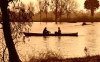 serene canoe