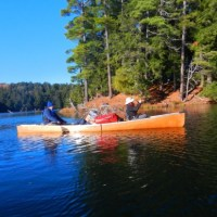 Cold Weather Canoeing In Michigan's Upper Peninsula Wilderness