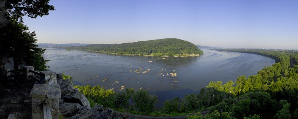Susquehanna from Chickies Rock - Copyright Paige Durborow