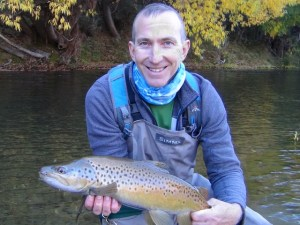 Central Otago, Autumn, fishing, NZ