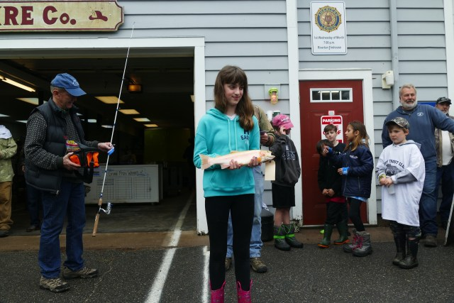 2019 Riverton Youth Fishing Derby - 2nd Place - Julia Parent